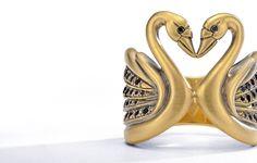 Wendy Brandes Swan Ring