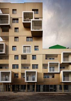 """Urban Dock"", Bordeaux, ZAC Bassins à Flot - Bordeaux, ZAC Bassins à Flot, îlot Tam Tam - Hamonic + Masson & Associés"