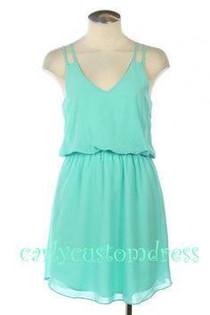 Short Mint Bridesmaid Dress/Coral Grey Blush Pink Peach Bridesmaid Dress/Black Red Prom Dress/Evening Dress/Formal Dress/Wedding Party Dress...