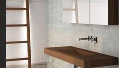 base lavello interamente in teak con porta asciugamani  #itesoricoloniali #bagno #bathroom #teak #reggioemilia #arredamenti #homestaging #legno