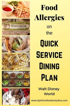 Food Allergies on the Quick Service Dining Plan - Walt Disne.- Food Allergies on the Quick Service Dining Plan – Walt Disney World Food Allergies on the Quick Service Dining Plan – Walt Disney World - Walt Disney World, Disney World Christmas, Disney World Food, Disney World Restaurants, Disney Parks, Magic Kingdom Quick Service, Gluten Free Disney World, Disney Dining Tips, Disney World Information
