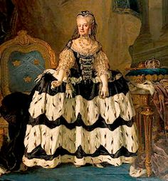 """""""Portrait of Louisa Ulrika of Prussia as Queen-Dowager"""", late C. (after by Lorens Pasch the Younger (Swedish, fur skirted dress a lot of weasels went into that Historical Costume, Historical Clothing, Female Clothing, Greek Royal Family, Queen Of Sweden, Mourning Dress, 18th Century Costume, Court Dresses, 18th Century Fashion"""