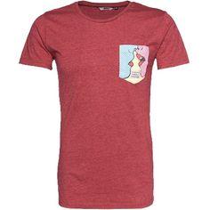 Rotes #T-Shirt mit Brusttasche ab 39,90€ ♥ Hier kaufen: http://stylefru.it/s685238 #comic #shirt #popart
