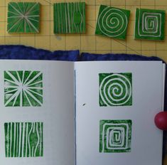 """Visual exercise 2 is about making 30 stamps in 30 days. I of course said """"What!"""" I'm not waiting 30 days. There was another option of 6 a da..."""