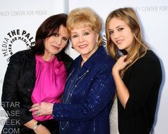 Billie Lourd, seen with mother Carrie Fisher and grandmother Debbie Reynolds