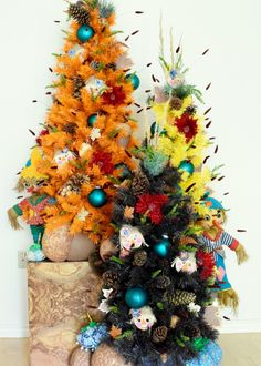 Fall colored christm