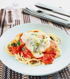 Recipe of the Week: Skinny Chicken Parm with Spinach: Flash: Self.com