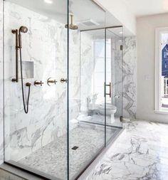 Top 60 Best Master Bathroom Ideas - Home Interior Designs Master Bathroom Shower, Modern Master Bathroom, Bathroom Layout, Bathroom Interior Design, Master Bathrooms, Bathroom Ideas, Bathroom Organization, Minimalist Bathroom, Small Bathroom