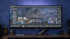 "Big-Ass Screen: LG's Envy-Inducing 34"" Monster Monitor"
