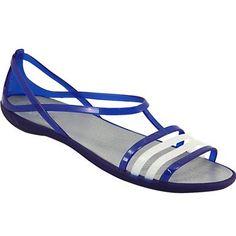 617cc71a0eeff9 Crocs Isabella Water Sandals - Womens Cerulean Blue Rogan s Shoes
