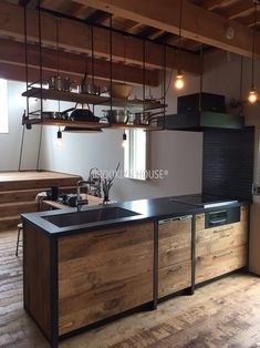 Diy Interior, Interior Design Kitchen, Interior Decorating, Tyni House, Interior Design And Construction, Country Modern Home, Kitchen Cabinets And Countertops, Kitchen Chalkboard, Industrial Style Kitchen