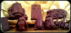 6 Pcs Set Star Wars Chocolate Candy Cake by UniqueCookieCutters