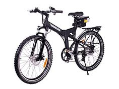 X-Treme Electric Folding Bicycle - X-Cursion - 300 Watts - Lithium Batteries (Black) *** Find out more about the great product at the image link.