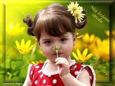 Cute Kids, Cute Babies, Baby Kids, Gifs Lindos, Baby Girl Images, Pretty Pictures, Children, Women, Dandelions