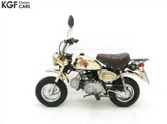 1985 Honda Monkey Bike Gold Limited Edition for sale on autocroc marketplace Sale On, Cars For Sale, Bike Life, Quad, Monkey, Honda, Freedom, Buy And Sell, Motorcycle