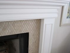 I FINALLY finished the fireplace. This is the second part of the fireplace makeover. To see the tile removal and drywall repair click he. Fireplace Redo, Home Fireplace, Home, House Styles, House Design, Remodel, New Homes, Fireplace Remodel, Fireplace Makeover