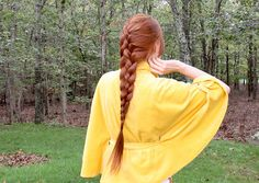 4 strand french braid ponytail tutorial