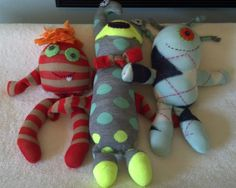 110 Best Sock Monsters images in 2016 | Fabric dolls