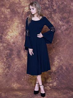 Платье с юбкой полусолнце (56 фото) : отрезное по талии, летнее