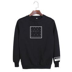 MONSTA X First Live X Clan Origins Black Cool Trendy Fashion Sweatshirt #MONSTAX #FirstLiveXClanOrigins #Black #Cool #Trendy #Fashion #Sweatshirt #KPOP #KIDOLSTUFF