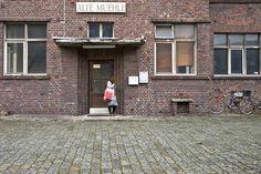 Photo dans une vieille industrie de Mannheim