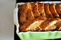Baked French Toast- a yummy winter breakfast option!