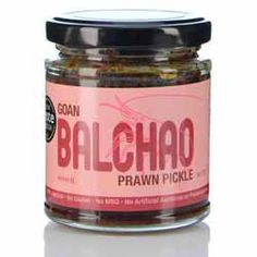 Goan Prawn Balchoa Pickle - Olde Goa - 200g