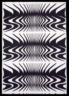 Furnishing fabric 'Expansion' of screen-printed cotton satin, designed by Barbara Brown for Heal Fabrics Ltd., Great Britain, 1966