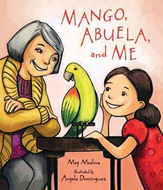 When Mia's abuela moves in with her and her parents they have trouble telling each other stories. Mia doesn't know much Spanish, and her abuela can't speak English. Then Mia sees a parrot in a pet shop and has the perfectoidea for how to help them all communicate a little better. An endearing tale from an award-winning duo that speaks loud and clear about learning new things and the love that bonds family members. 9780763669003/5-8 yrs