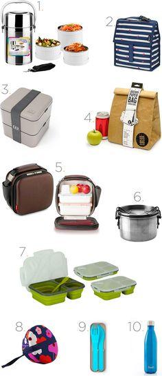 Marmitinhas e acessórios para almoçar longe de casa - Clique para saber onde comprar