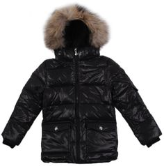 january 2017 7 pyrenex shiny authentic fur down jacket noir 8 years 12 Teen Guy, Straight Cut, Canvas Fabric, Winter Jackets, Fur, Stylish, Long Sleeve, Sleeves, Blazers
