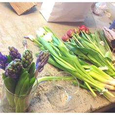 Flowers in the making
