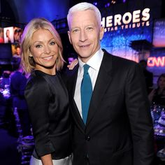 """Anderson Cooper Talks Joining 'Live!': """"It Would be a Dream to Work With Kelly Ripa"""""""