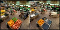 This is what your local produce section would look like without bees. Before and After