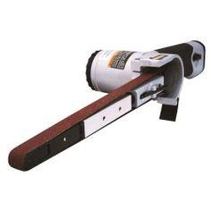 "Air Belt Sander (1/2"" x 18"") with 3pc Belts"