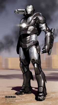Check out Iron Man concept art by Phil Saunders ! Once upon a time there was a little movie called Iron Man . Marvel Comics, Hq Marvel, Marvel Heroes, Comic Book Heroes, Comic Books Art, Comic Art, Comic Pics, Book Art, Tony Stark