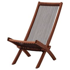 IKEA ÄPPLARÖ Chaise lounger brown stained | Products in