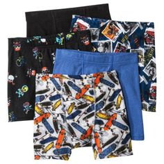 Hanes® Boys' 5-Pack Printed Boxer Brief - Assorted