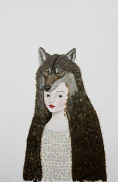 Wolf Girl by Anne Siems