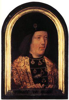 Edward IV, his daughter Elizabeth of York married Henry VII