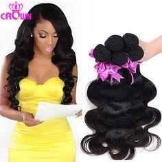 10A Grade Brazilian Virgin Hair Body Wave 3PCS Im Queen Hair Brazilian Body Wave Unprocessed Brazilian Human Hair Weave Bundles