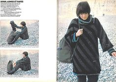 diagopull !! Sweat Shirt, Pulls, Military Jacket, Turtle Neck, Stripes, Knitting, Blog, Sweaters, Jackets