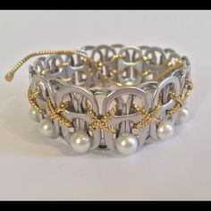 REPURPOSE Luxe Pearl Every bracelet will give back to the Ronald McDonald Pop Tab Collection Program during their creation process REPURPOSE Jewelry Bracelets