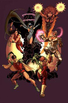 Teen Titans // George Perez