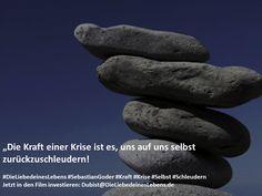 """""""Die Kraft einer Krise ist es, uns auf uns selbst zurückzuschleudern!  #DieLiebedeinesLebens #SebastianGoder #Kraft #Krise #Selbst #Schleudern Jetzt in den Film investieren: Dubist@DieLiebedeinesLebens.de"""