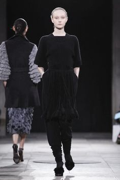 Allude Ready To Wear Fall Winter 2014 Paris - NOWFASHION