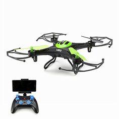 EACHINE H8W Mini Wifi FPV Quadcopter With Camera 2.4G 6-Axis Headless Mode RC Quadcopter Drone RTF Mode 2 (Black) - http://www.midronepro.com/producto/eachine-h8w-mini-wifi-fpv-quadcopter-with-camera-2-4g-6-axis-headless-mode-rc-quadcopter-drone-rtf-mode-2-black/