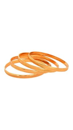 Buy Waama Jewels Day Wear Golden Four Bangle Lovely Bangle for wife ( Size Inc. 2.8 ) Online at Low Prices in India - Paytm.com