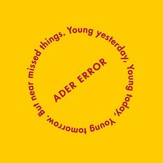 🚫 but near missed things #ader#adererror