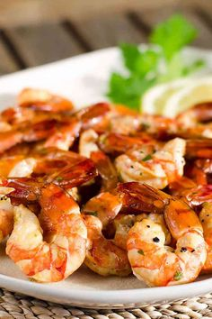 This easy smoked shrimp recipe is an easy paleo, keto, and gluten-free appetizer or main dish. Serve them with a simple herb garlic sauce or your favorite seafood dipping sauce.These would be delicious in shrimp tacos! Pellet Grill Recipes, Grilling Recipes, Lunch Recipes, Paleo Recipes, Traeger Recipes, Waffle Recipes, Dinner Recipes, Shrimp Tacos, Pork Rib Recipes